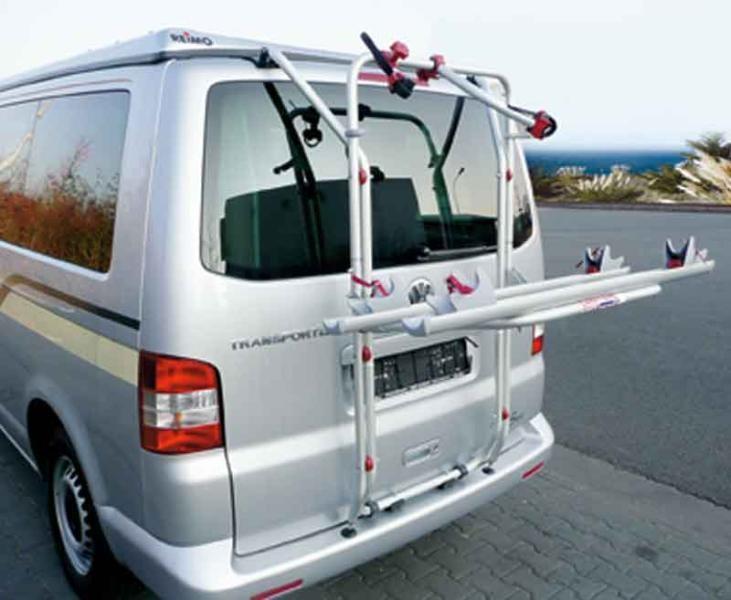 Fahrradheckträger für VW-T5 Heckklappe