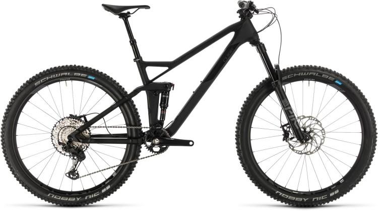 Cube Stereo 140 HPC SL 27.5 carbon n grey 2020 - Fully Mountainbike
