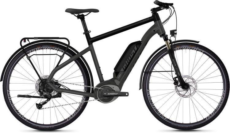 Ghost Hybride Square Trekking B1.8 AL U titanium gray / jet black / iridium silver 2020 - E-Bike Trekkingrad Herren