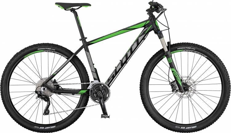 Scott Aspect 910 black/grey/green 2017 - Hardtail Mountainbike
