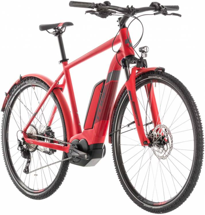 Cube Cross Hybrid Pro 400 Allroad red n grey - Herren 2019