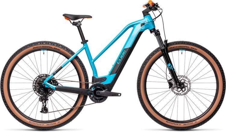 Cube Reaction Hybrid Pro 500 29 petrol n orange 2021 - E-Bike Hardtail Mountainbike Damen