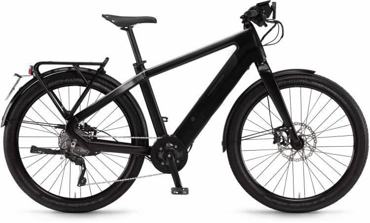 "Winora radar speed 500Wh 27.5"" schwarz matt/metal 2017 - Herren E-Bike Fitnessrad"