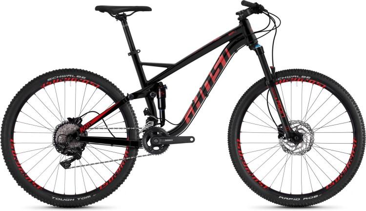 Ghost Kato FS 3.7 AL U jet black / riot red 2020 - Fully Mountainbike