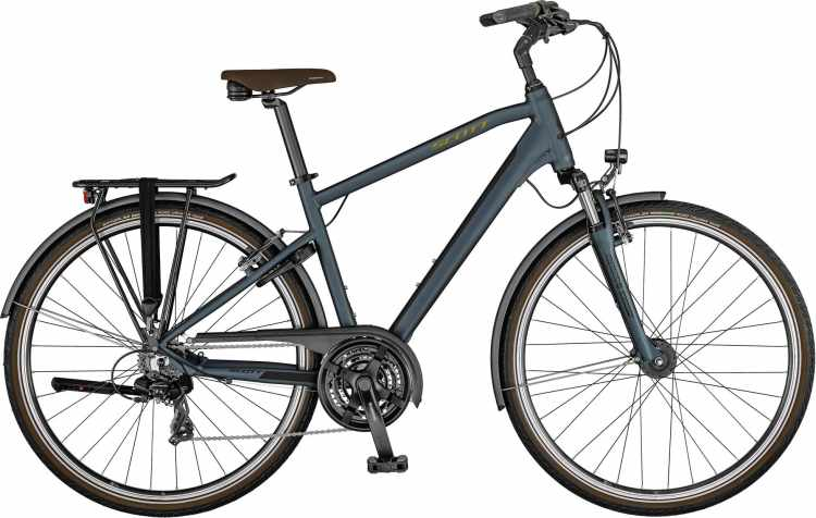 Scott Sub Comfort 20 Men petrol blue / havana 2021 - Trekkingrad Herren