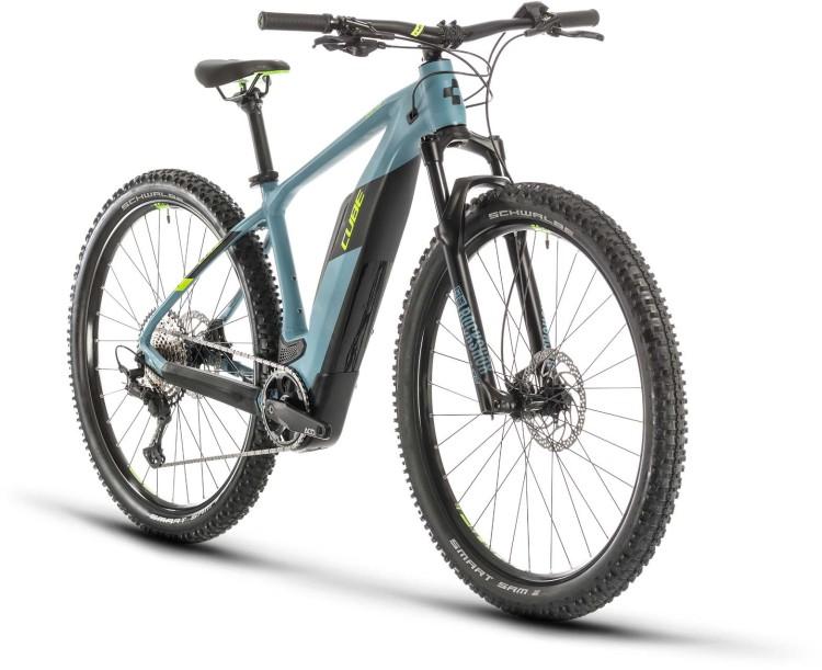 Cube Reaction Hybrid Race 500 blue n green 2020 - E-Bike Hardtail Mountainbike