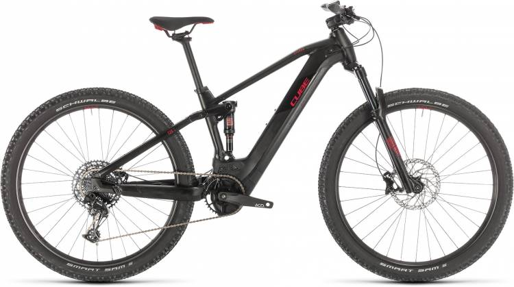 Cube Stereo Hybrid 120 Pro 500 29 black n red 2020 - E-Bike Fully Mountainbike