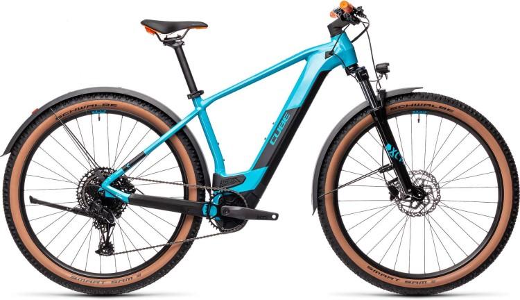 Cube Reaction Hybrid Pro 625 29 Allroad petrol n orange 2021 - E-Bike Hardtail Mountainbike