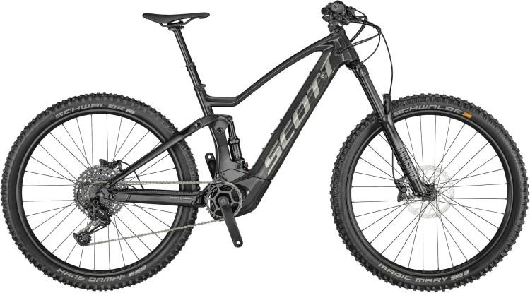 Scott Genius eRIDE 900 raw carbon / metal brushed 2021 - E-Bike Fully Mountainbike