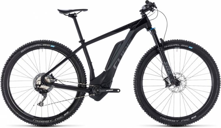 Cube Reaction Hybrid EXC 500 black n grey 2018 - E-Bike Hardtail Mountainbike