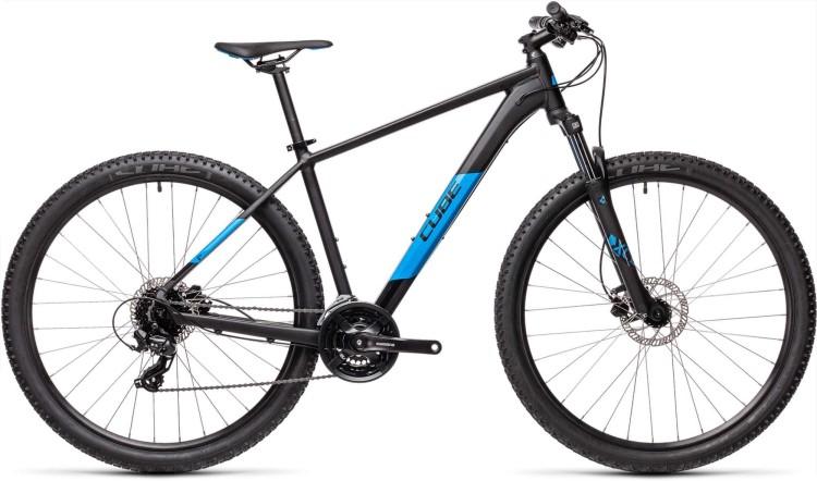 Cube Aim Pro black n blue 2021 - Hardtail Mountainbike