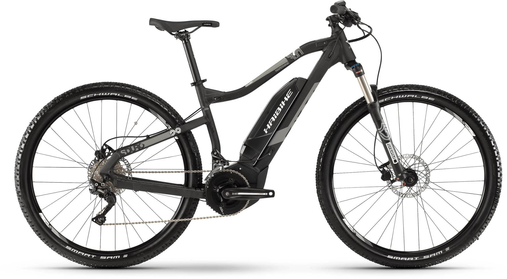 haibike sduro hardnine 3 0 500wh schwarz grau wei e bike. Black Bedroom Furniture Sets. Home Design Ideas