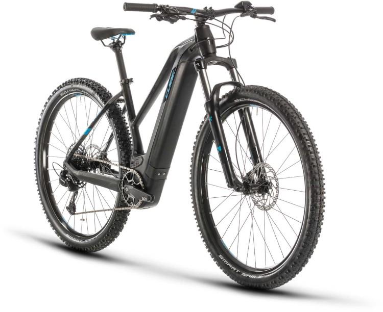 Cube Reaction Hybrid EX 625 29 black n blue 2020 - E-Bike Hardtail Mountainbike Damen