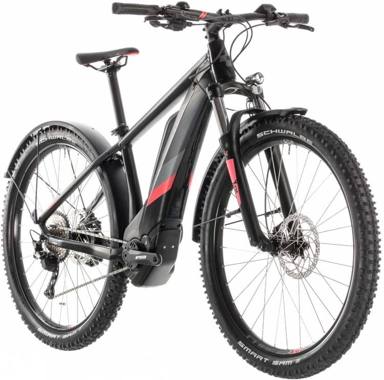 Cube Access Hybrid Pro 400 Allroad black n coral 2019