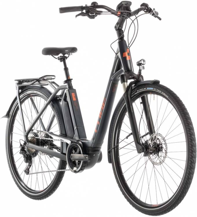 Cube Town Sport Hybrid EXC 500 iridium n copper - Easy Entry 2019 - Lackschaden
