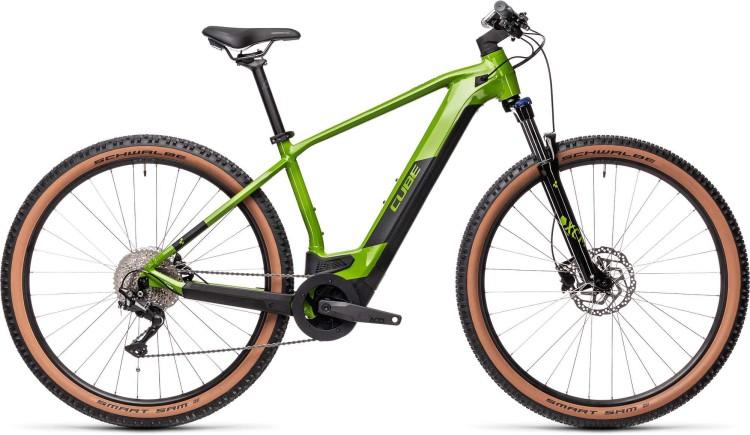 Cube Reaction Hybrid ONE 500 29 deepgreen n black 2021 - E-Bike Hardtail Mountainbike