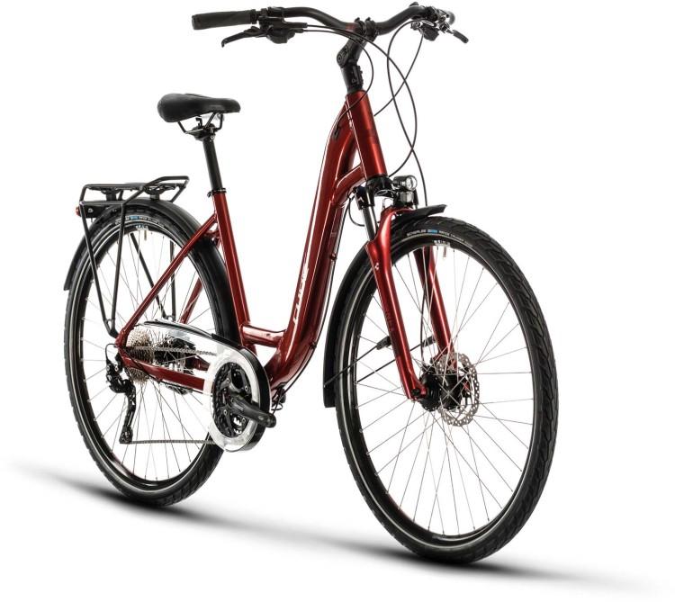 Cube Touring EXC red n grey 2020 - Trekkingrad Tiefeinsteiger