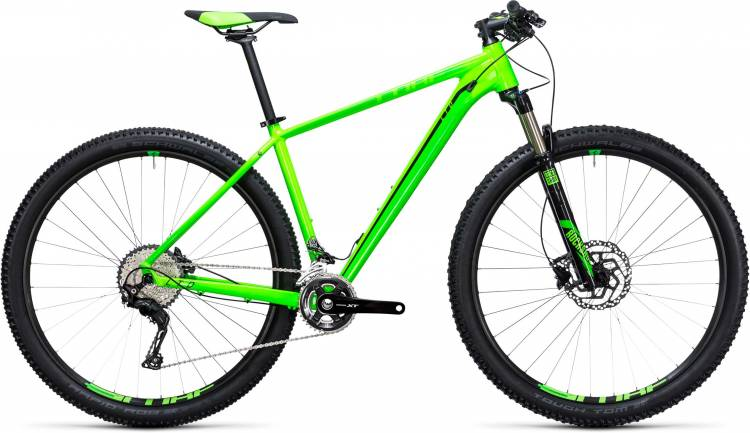 Cube LTD Pro 27.5/29 2x green n black 2017