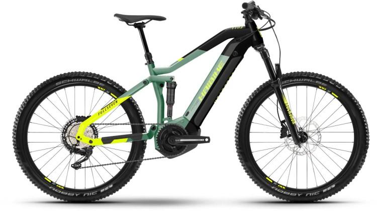Haibike FullSeven 6 i630Wh defender/black 2021 - E-Bike Fully Mountainbike