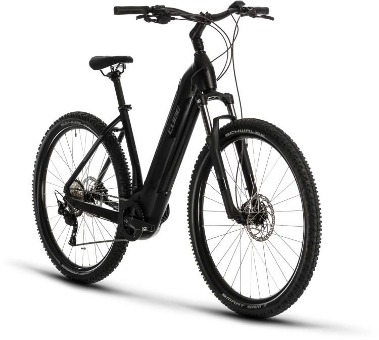 Cube Nuride Hybrid Pro 500 black n grey 2020 - E-Bike Hardtail Mountainbike