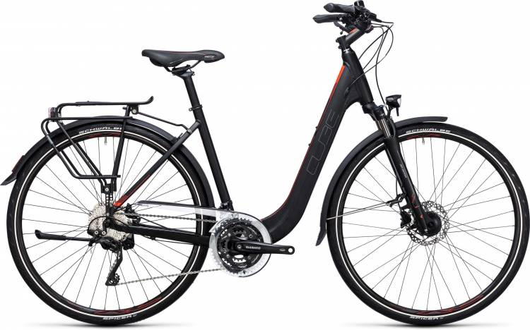 Cube Touring SL black n flashred Easy Entry 2017