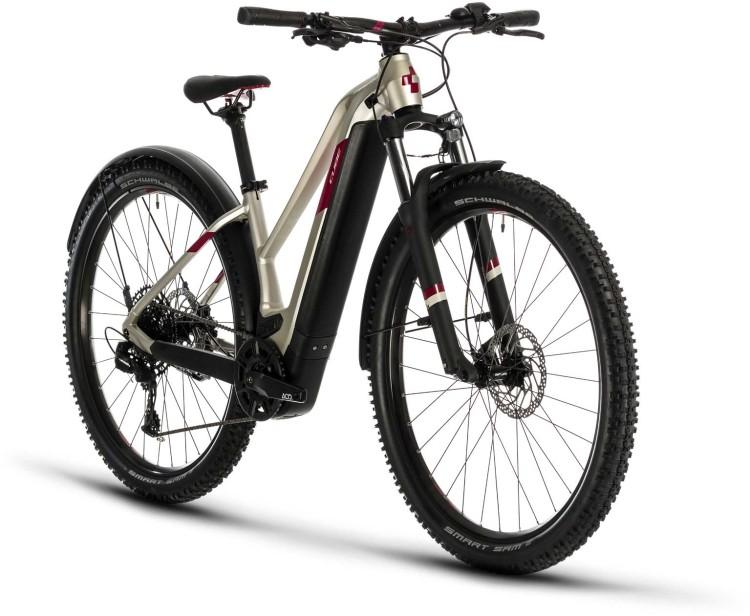 Cube Access Hybrid EX 500 Allroad 29 titan n berry 2020 - E-Bike Hardtail Mountainbike Damen