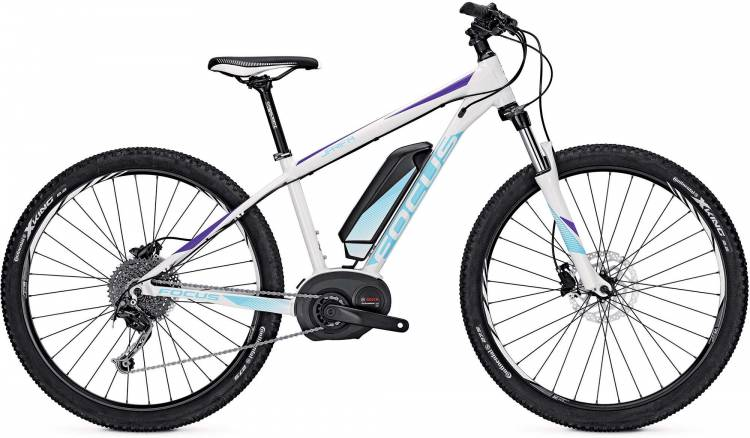 Focus Jarifa Donna 27 white 2017 - Damen E-Bike Hardtail Mountainbike