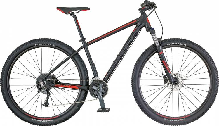 Scott Aspect 740 black/red 2018 - Hardtail Mountainbike