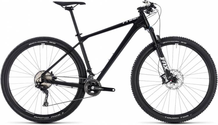 Cube Reaction SL black n white 2018 - Hardtail Mountainbike