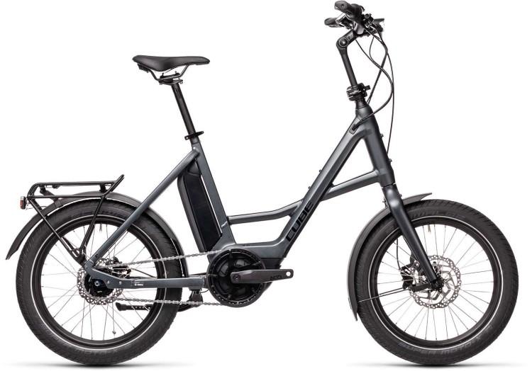 Cube Compact Hybrid iridium n black 2021 - E-Bike Kompaktrad