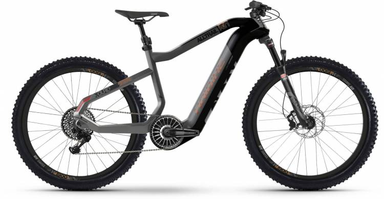Haibike XDURO AllTrail 6.0 FLYON i630Wh carbon/titan/bronze 2020