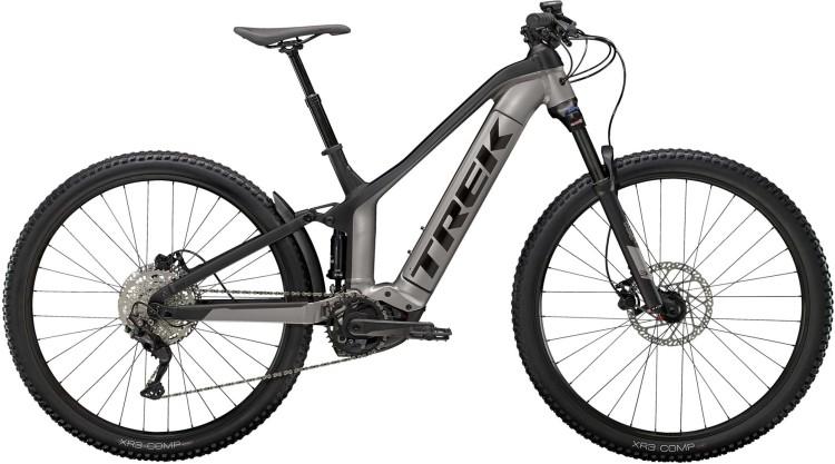 Trek Powerfly FS 4 625Wh Matte Gunmetal / Matte Black 2021 - E-Bike Fully Mountainbike