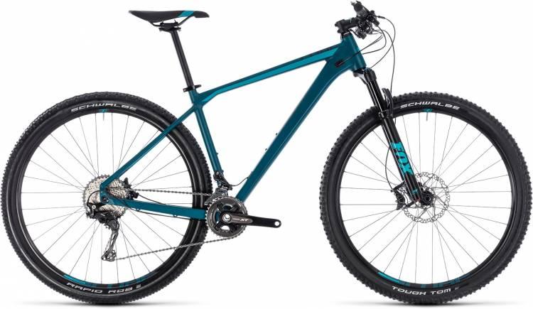 Cube Reaction SL darkblue n mint 2018 - Hardtail Mountainbike