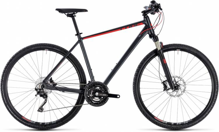 Cube Cross EXC iridium n red 2018 - Herren Crossrad