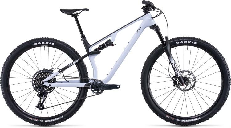 Cube AMS ONE11 C:68X Pro 29 flashwhite n carbon 2022 - Fully Mountainbike
