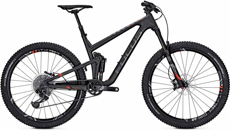 Focus Jam C SL 27 black/red 2017 - Fully Mountainbike