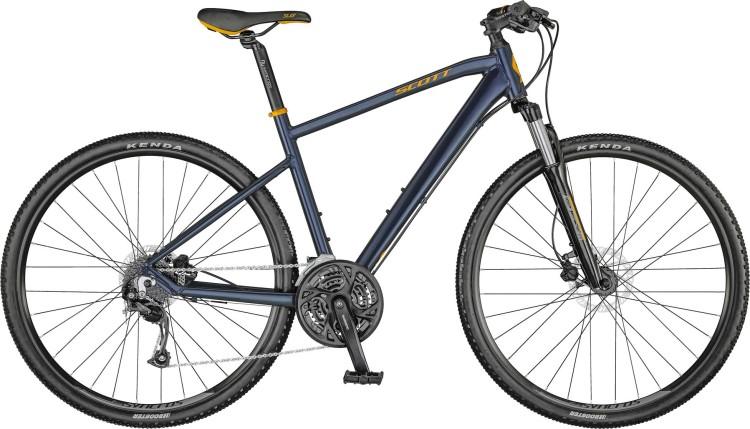 Scott Sub Cross 40 Men dark blue / pumpkin orange / eclipse blue 2021 - Crossrad Herren
