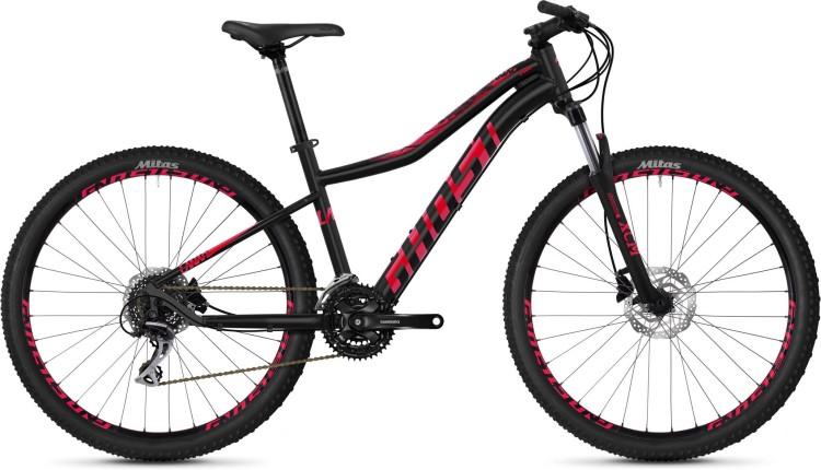 Ghost Lanao 3.7 AL W jet black / ruby pink 2020 - Hardtail Mountainbike Damen