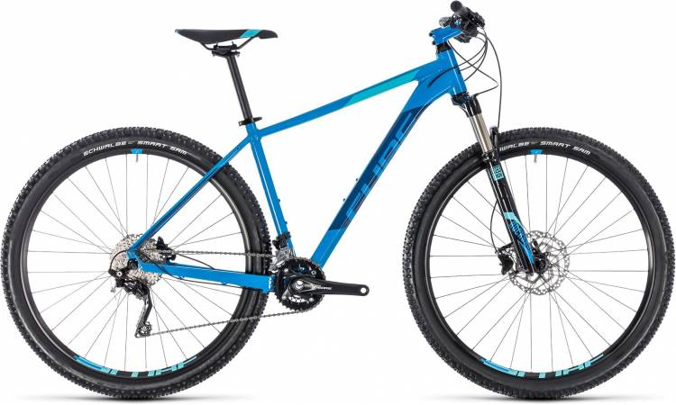 Cube Attention SL aqua n blue 2018 - Hardtail Mountainbike