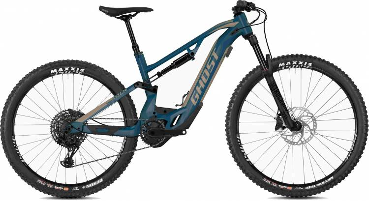 Ghost Hybride ASX 2.7+ AL U sky / dust 2020 - E-Bike Fully Mountainbike