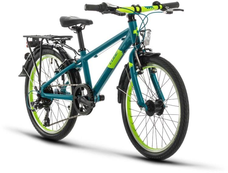 Cube Kid 200 Street petrol n green 2020 - Kinderrad 20 Zoll