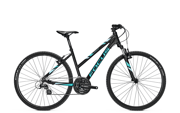 Focus Crater Lake Elite Rigid black 2017 - Damen Trapez Crossrad