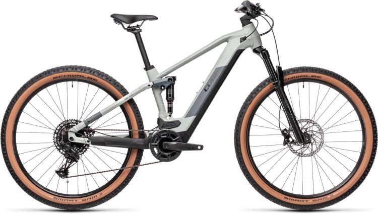 Cube Stereo Hybrid 120 Pro 500 lunar n grey 2021 - E-Bike Fully Mountainbike