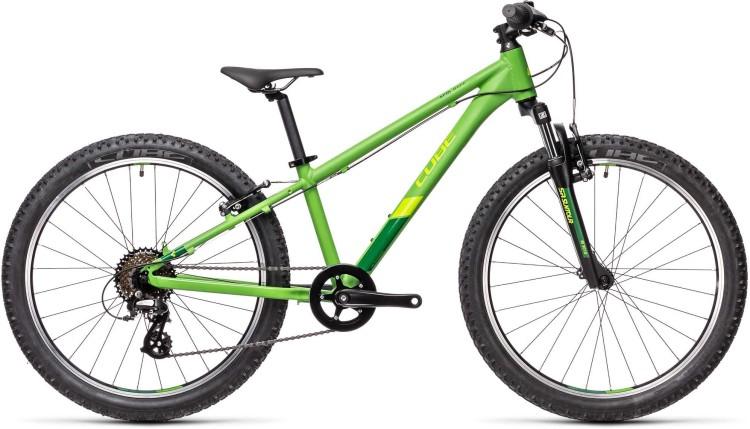 Cube Acid 240 green n pine 2021 - Kinderrad 24 Zoll