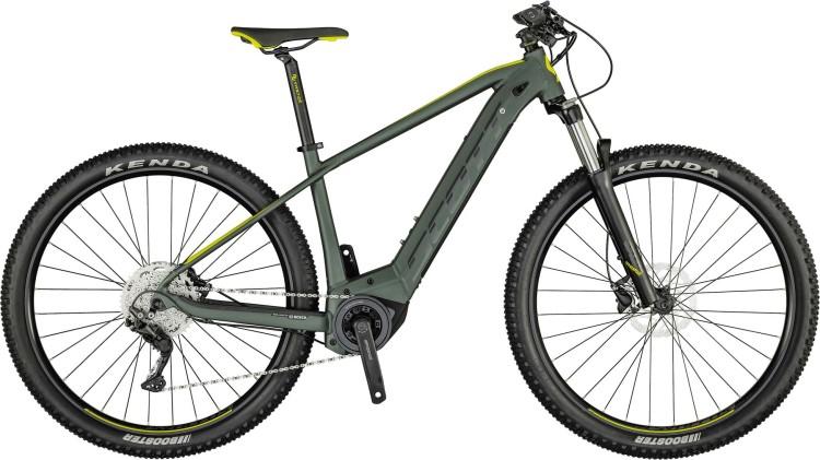 Scott Aspect eRIDE 940 kelp green / yellow 2021 - E-Bike Hardtail Mountainbike