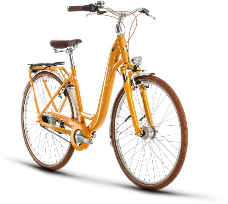 Cube Ella Cruise yellow n white 2020 - Trekkingrad Tiefeinsteiger