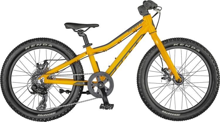 Scott Scale 20 rigid fire orange / black 2021 - Kinderrad 20 Zoll