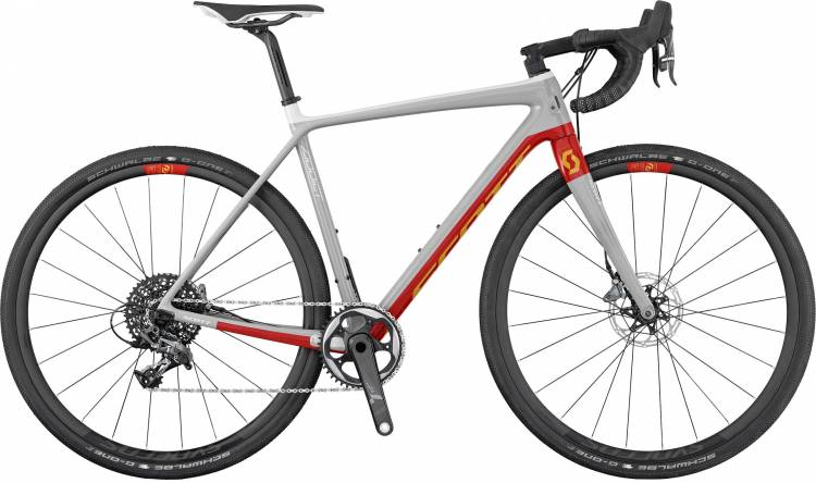 Scott Addict Gravel 10 Disc 2017