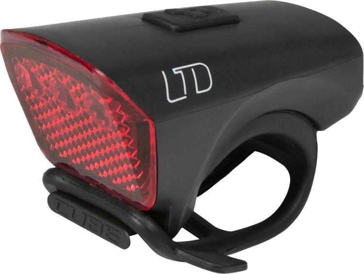 "Cube Outdoor Licht LTD ""Red LED"" black"