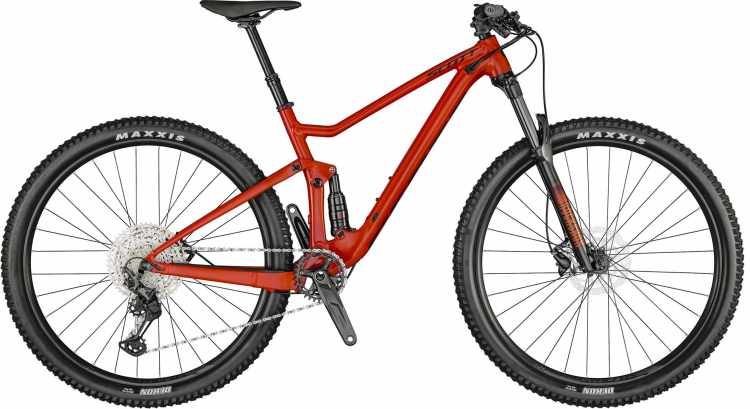 Scott Spark 960 florida red / black 2021 - Fully Mountainbike